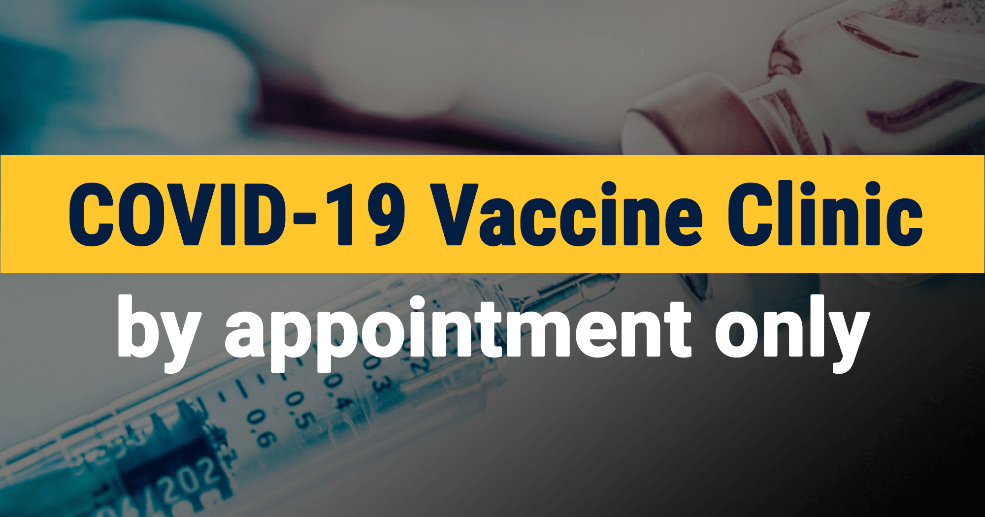 image for COVID-19 Vaccine Clinic: CANCELED
