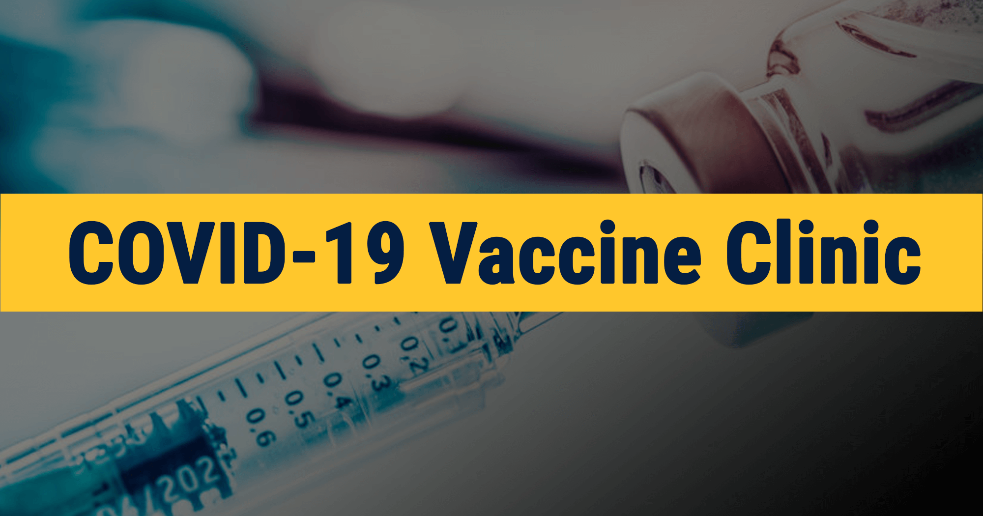 image for COVID-19 Vaccine Clinics